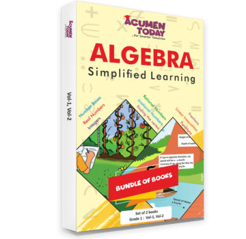 <b>Algebra – (Set of 3 Books)</b>