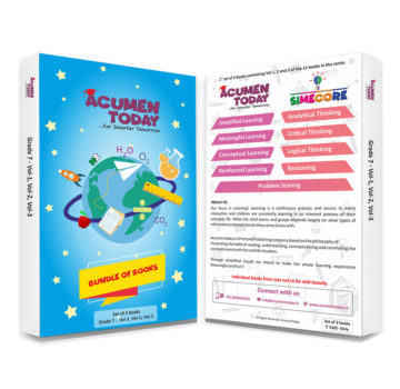 <b>Grade 7 – (Set of 3 Books)</b>