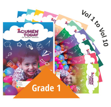 <b>Grade 1 – (Set of 10 Books)</b>