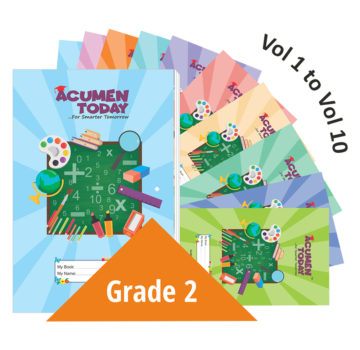 <b>Grade 2 – (Set of 10 Books)</b>