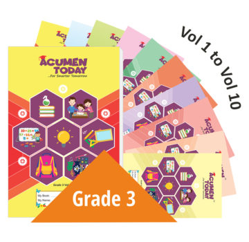 <b>Grade 3 – (Set of 10 Books)</b>