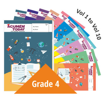 <b>Grade 4 – (Set of 10 Books)</b>