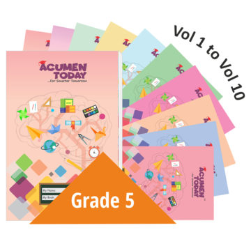 <b>Grade 5 – (Set of 10 Books)</b>