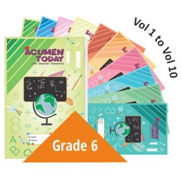 <b>Grade 6 – (Set of 10 Books)</b>