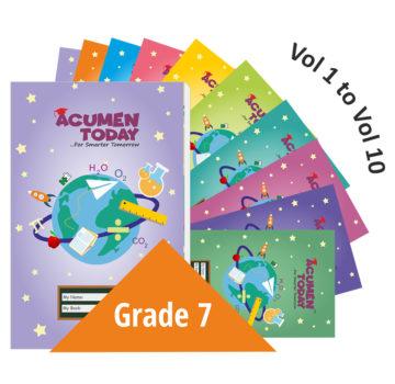<b>Grade 7 – (Set of 10 Books)</b>
