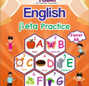 <b> JR Kg English Practice book – English Beta Practice </b>