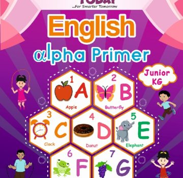 <b> JR Kg English Concept book English Alpha Primer </b>