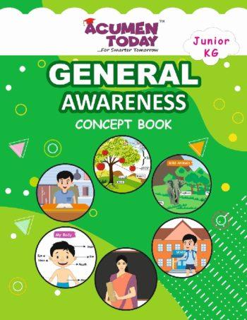 JR KG-General Awarness-Concept book-Cover Page -Ve