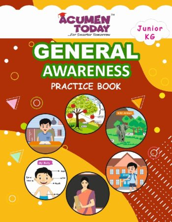 JR KG-General Awarness-Practice book -Cover Page -