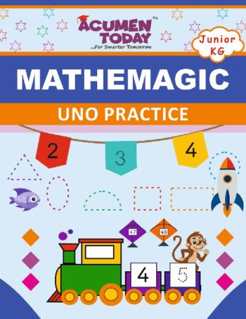 JR KG Math - Practice book - Cover Page -Ver5