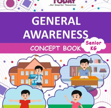 <b> Sr Kg General Awareness Concept Book  </b>