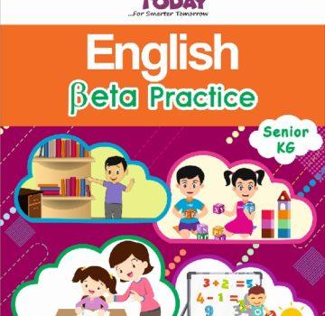 <b> Sr Kg English Practice book – English Beta Practice </b>