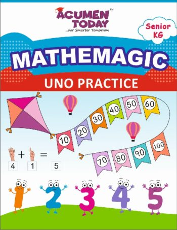 SR KG Math - Practice book - Cover Page -Ver5
