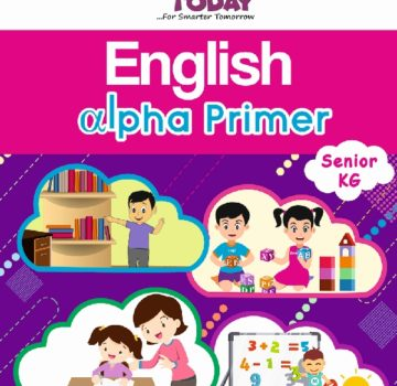 <b> Sr Kg English Concept book – English Alpha Primer  </b>