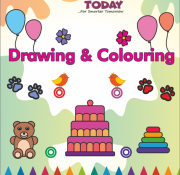 Drawing & Colouring Book for Playgroup